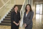 Therese Pritchard and Lisa Mayhew (Photo: Business Wire)