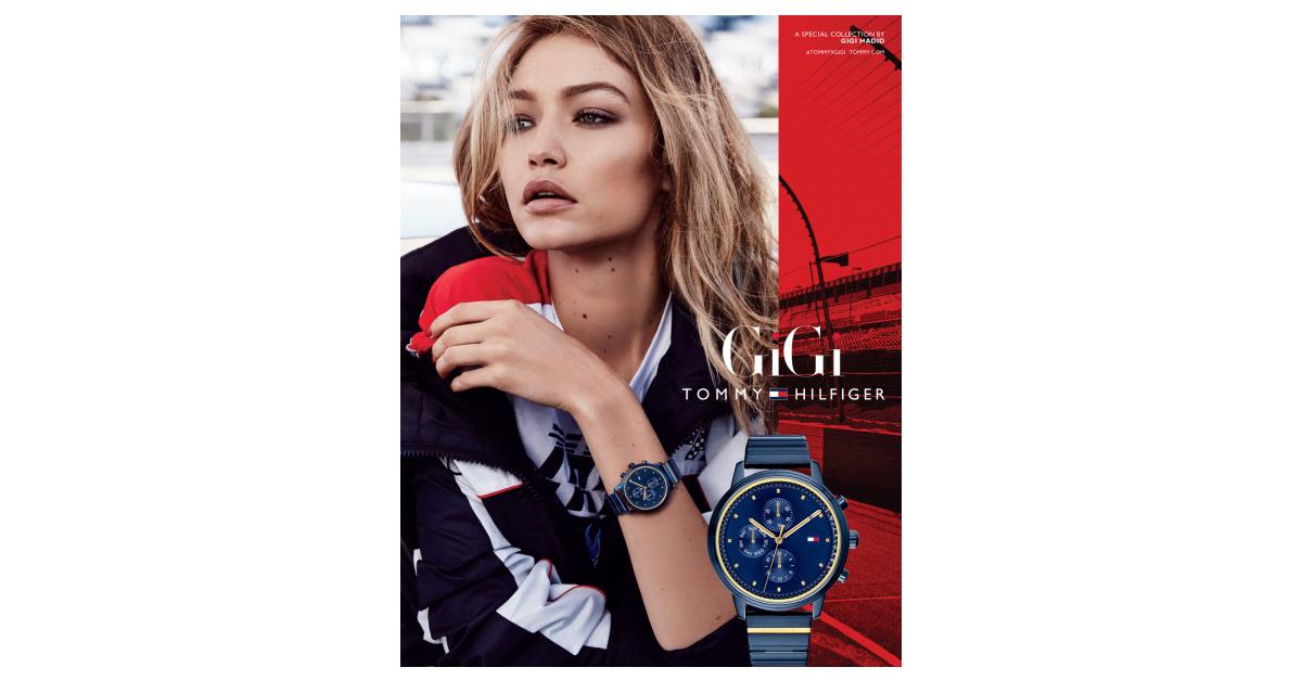 Tommy Hilfiger kündigt die Gigi Hadid Uhr für die