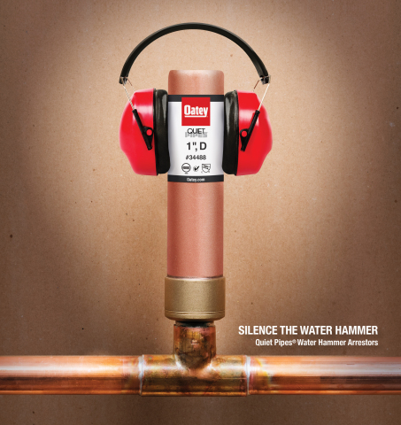 Oatey Quiet Pipes (Photo: Business Wire)