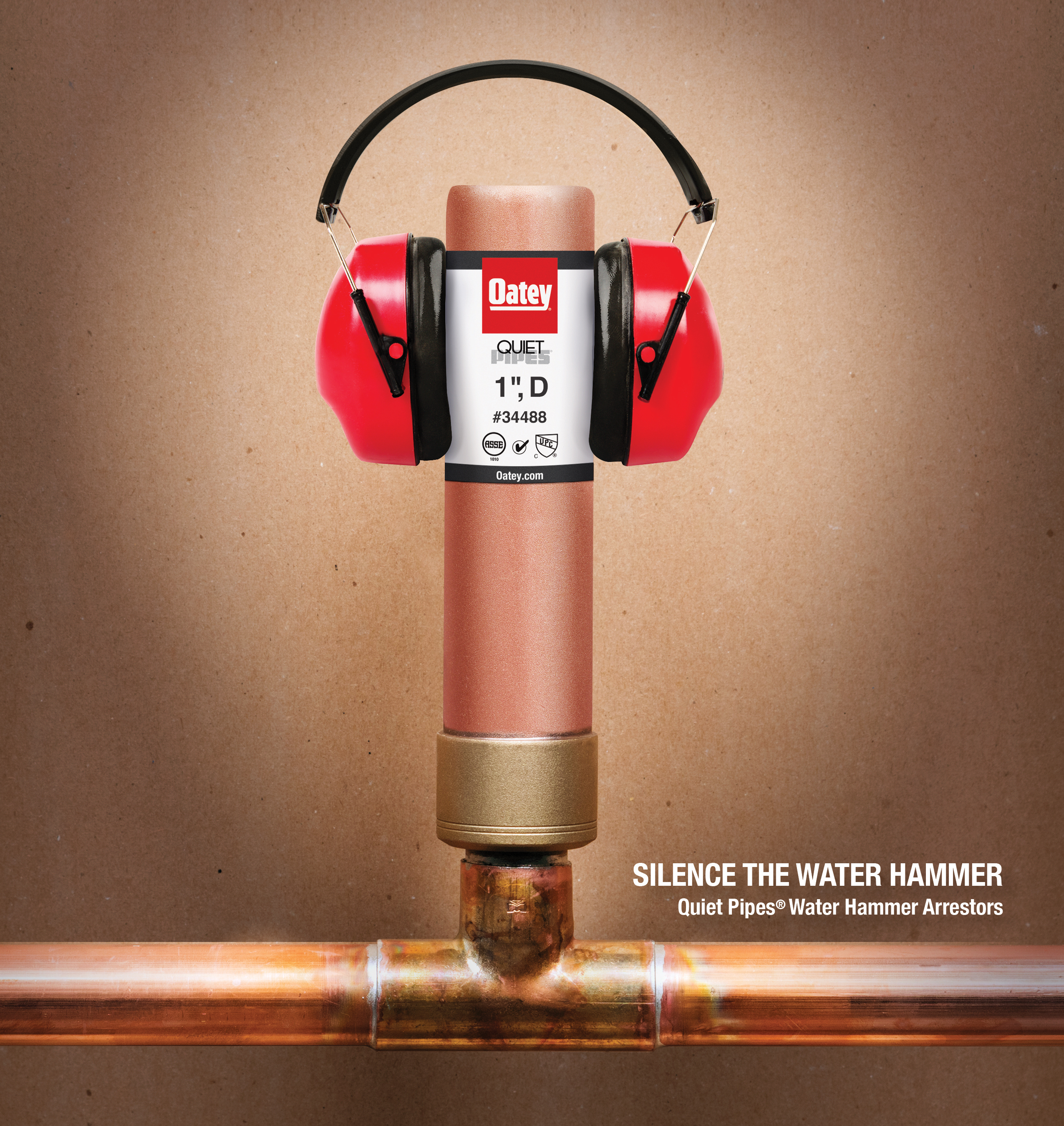 Oatey® Quiet Pipes® - Silencing the Water Hammer | Business Wire
