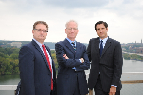 Attorneys Thomas Poulin, Scott Simmer, and Andrew Miller (Photo: Business Wire)