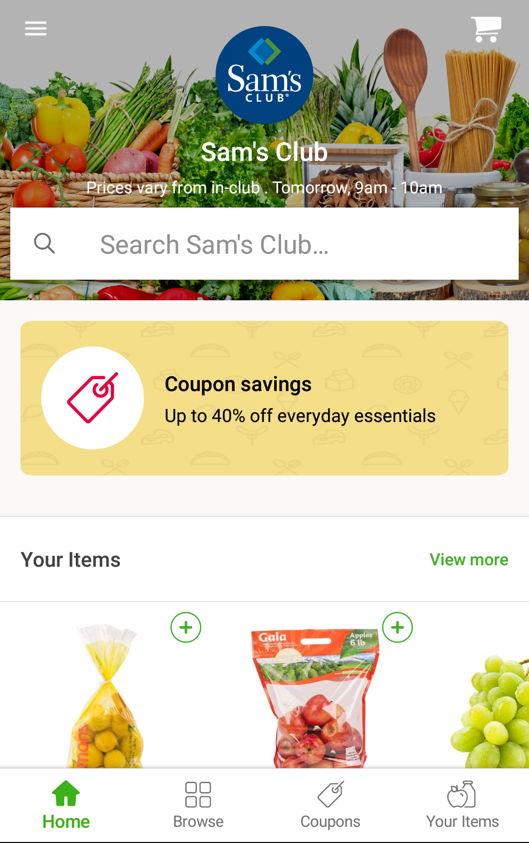 Sam's Club Joins Forces with Instacart to Offer Same-Day