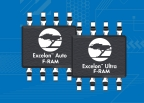 Pictured is Cypress' Excelon™ F-RAM™ memory family that delivers high-speed nonvolatile data logging, preventing data-loss even in harsh automotive and industrial operating environments. (Photo: Business Wire)