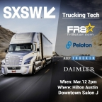 How Tech is Revolutionizing Trucking Panel Presentation at SXSW (Graphic: Business Wire)