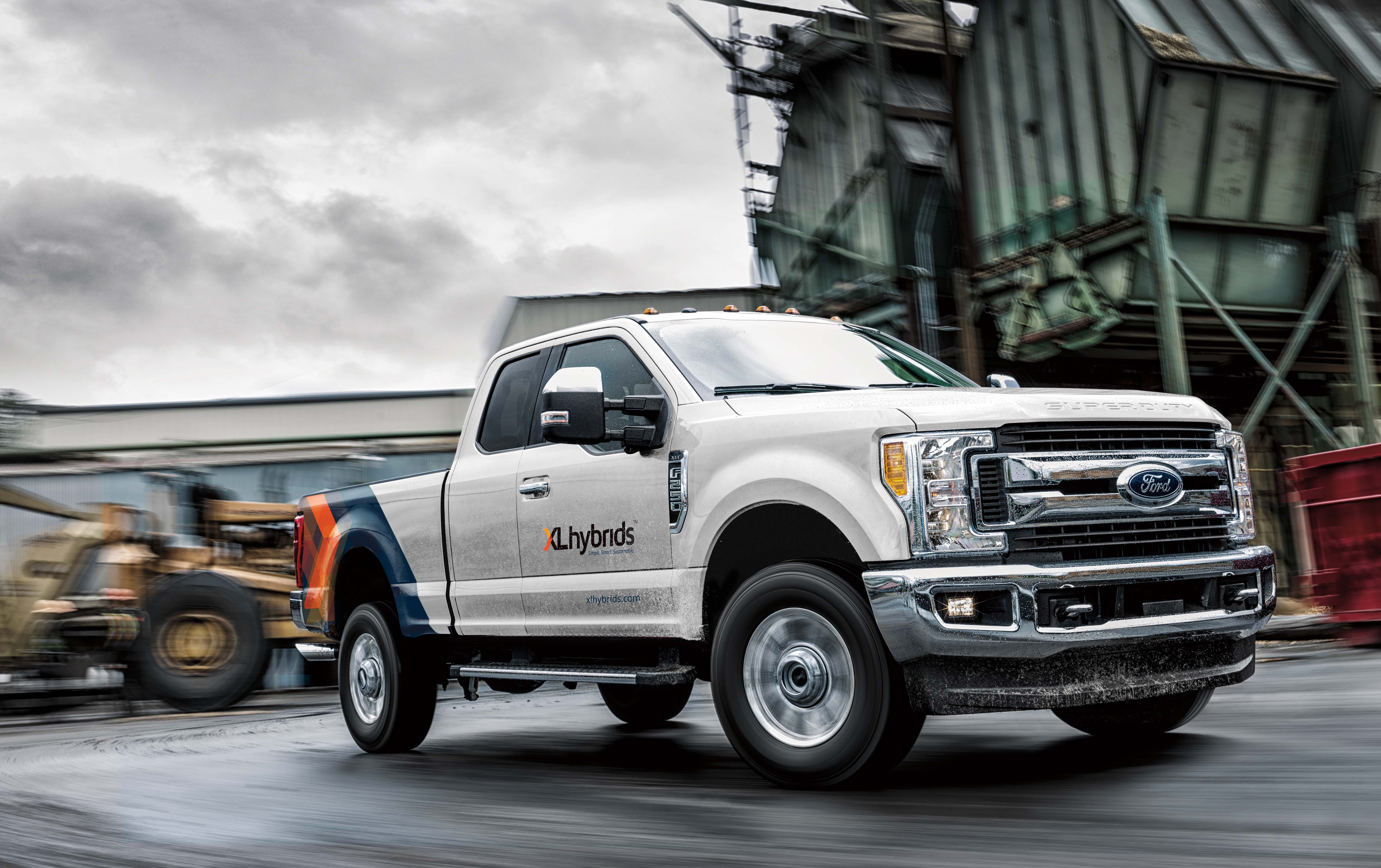 XL Hybrids Unveils First Ever Hybrid Electric Ford F 250 at 2018