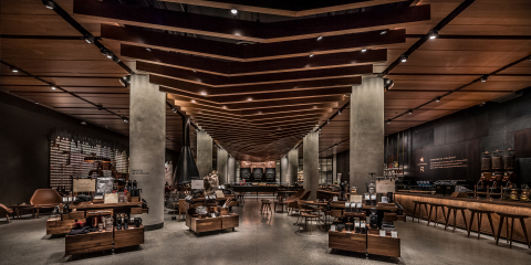 Today, Starbucks Coffee Company (NASDAQ: SBUX) opened its first Reserve store, a new store format from the company's Siren Retail business dedicated to its premium Reserve brand. (Photo: Business Wire)