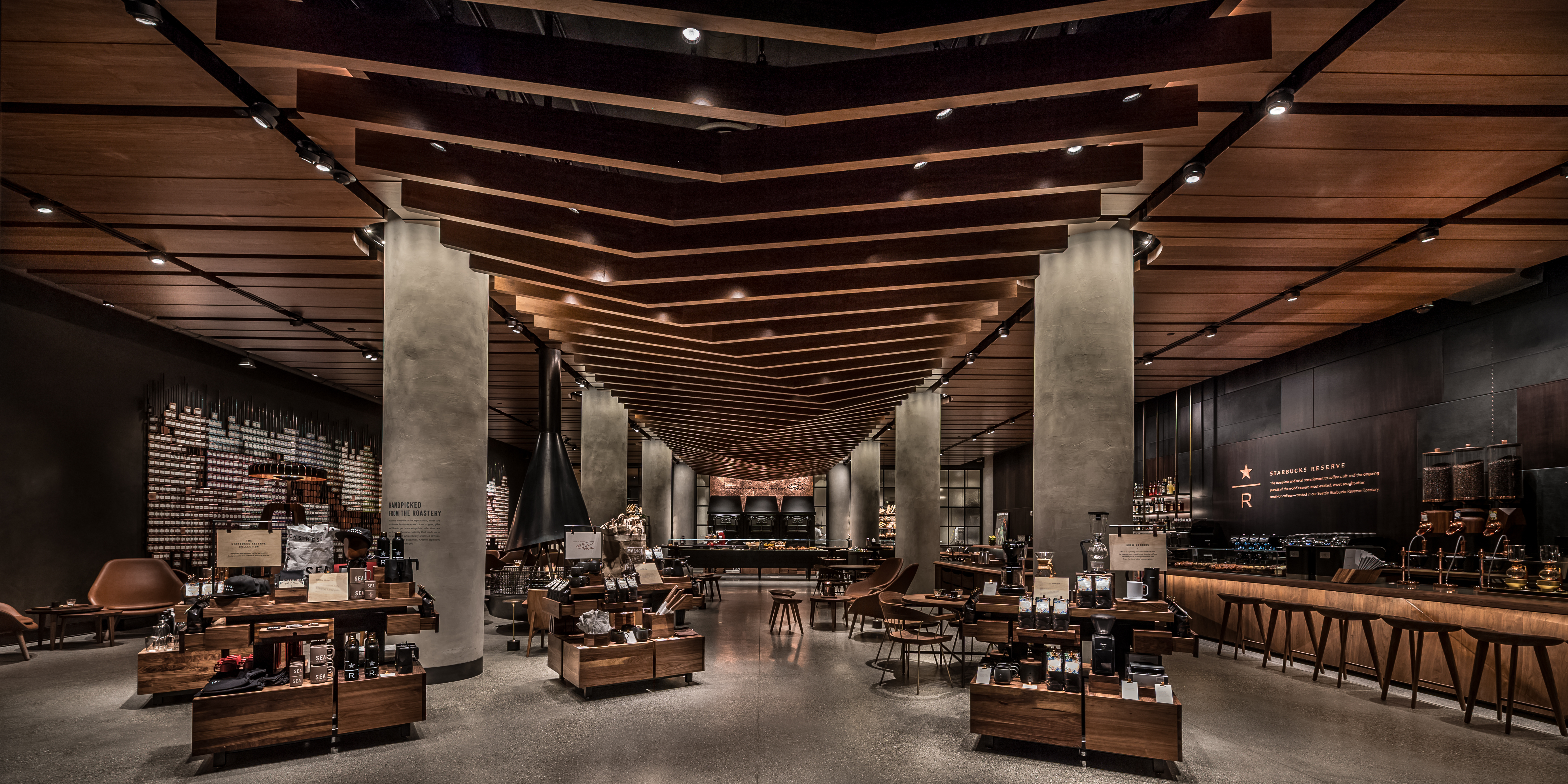 Starbucks First Reserve Store Opens with Italian Princi Bakery ...