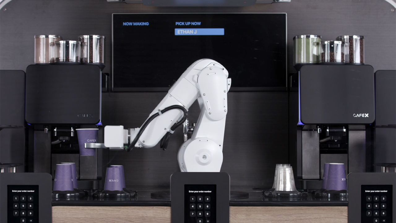 Cafe X Launches Robotic Coffeebar 2.0