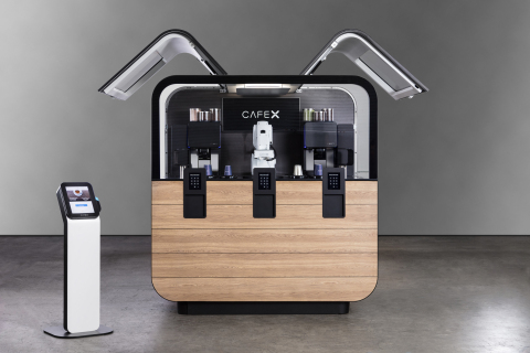 Cafe X introduces their newest Robotic Coffeebar 2.0 in downtown San Francisco (Photo: Business Wire)
