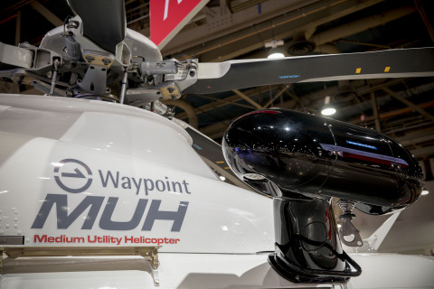 Waypoint and Leonardo collaborate on new service offerings for the MUH (Photo: Business Wire)