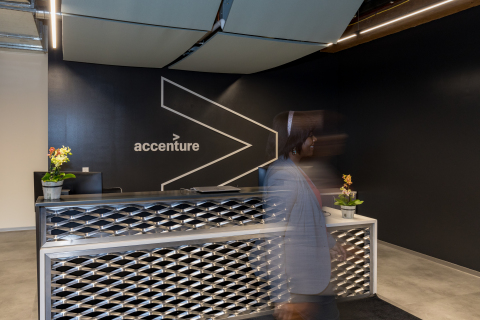 Accenture's new innovation hub in Columbus is designed to help leading organizations accelerate their digital transformation programs. (Photo: Business Wire)