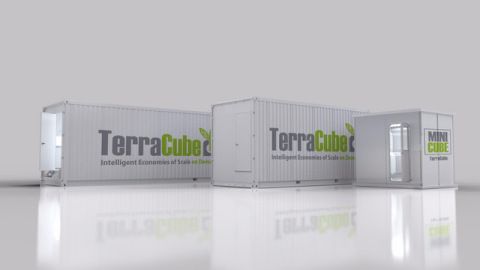 HollyWeed™ North Cannabis Inc. & TerraCube™ International Inc. Announce Debut Of Commercial Personal TerraCube™ Stackable Cleanroom Technology For Growth & Processing (Photo: Business Wire)