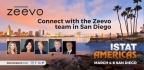 Zeevo principals Joey Johnsen, John McCartney, and Karen Curtis; Angela Geremia, Head of Technical Operations; and Dave Johnson, Advisor, will be attending ISTAT Americas in San Diego March 4-6. (Photo: Business Wire)