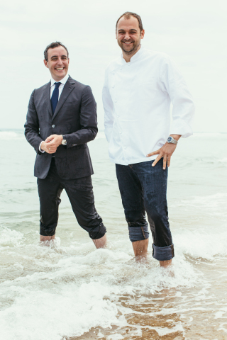 Restaurateur Will Guidara and Chef Daniel Humm (Photo: American Express)