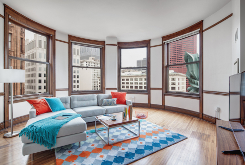 At ARC at Old Colony, opened in 2015, CA Ventures preserved the original charm of a 19th century Chicago office building and added contemporary design features and sought-after amenities. (Photo: Business Wire)