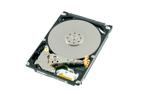 "Toshiba: MQ04 Series 2TB HDD model ""MQ04ABD200"" for client storage applications. (Photo: Business Wire)"