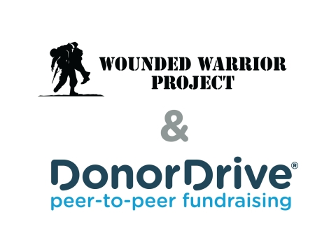 Wounded Warrior Project and DonorDrive Logos (Graphic: Business Wire)