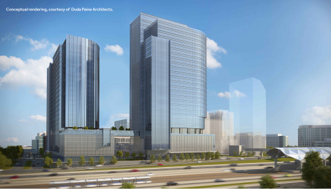 Reston Gateway Conceptual Rendering, courtesy of Duda Paine Architects (Photo: Business Wire)