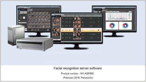 松下人脸识别服务器软件WV-ASF950(图示:美国商业资讯)