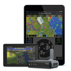 Garmin's new GDL 50 is a portable device capable of receiving Automatic Dependent Surveillance-Broadcast (ADS-B) traffic and weather, GPS and aircraft attitude information for display on select portables and mobile devices. (Photo: Business Wire)