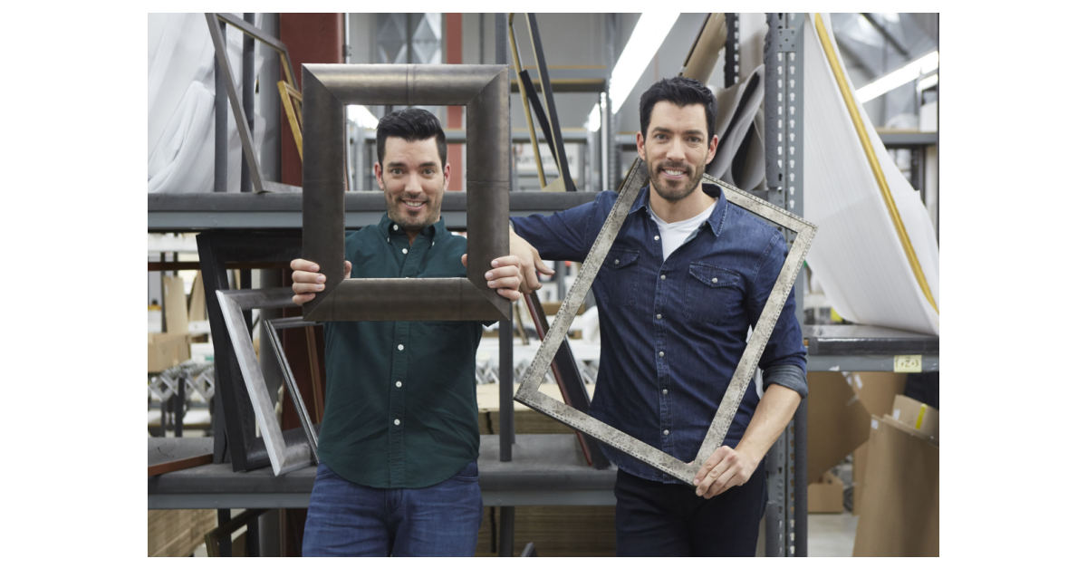 c29f4a35e9e Michaels Collaborates with Jonathan and Drew Scott on Their First Ever Custom  Framing Program