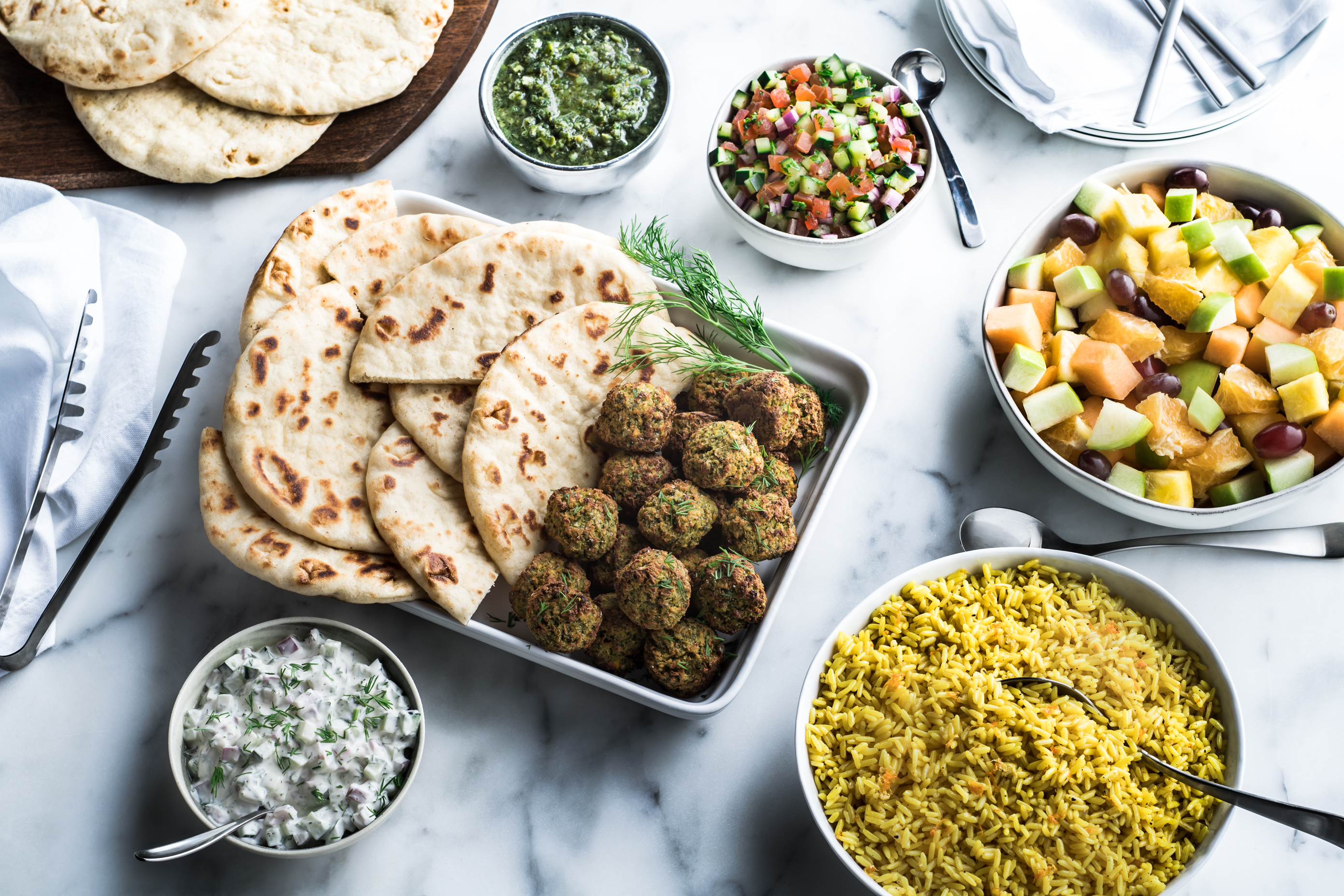 Zo 235 S Kitchen Introduces Baked Falafel And New