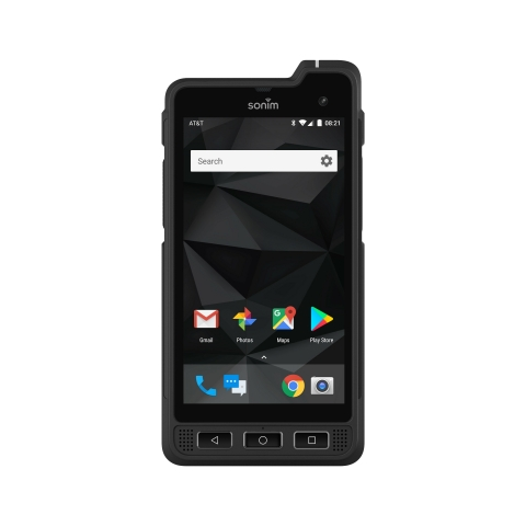 The XP8 is a new ultra-rugged Android smartphone that's designed to empower public safety workers to focus on what they do best-protect and serve our communities. (Photo: Business Wire)