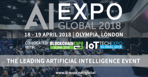 The AI Expo Global, the leading Artificial Intelligence Conference & Exhibition to arrive in London on the 18-19th April.(Graphic: Business Wire)