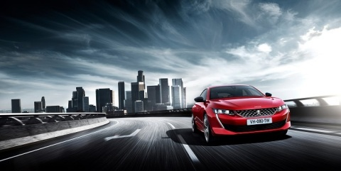 New PEUGEOT 508 (Photo: AETOSWire)