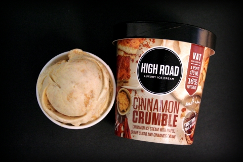 High Road Cinnamon Crumble Ice Cream (Photo: Business Wire)