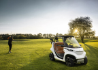 Garia Golf Car inspired by Mercedes-Benz Style (Photo: Business Wire)