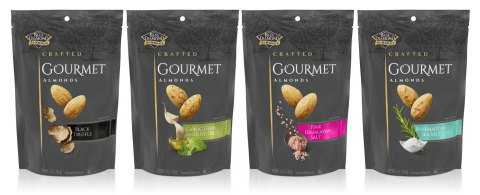 Blue Diamond launches Crafted Gourmet Line of Almonds (Photo: Business Wire)