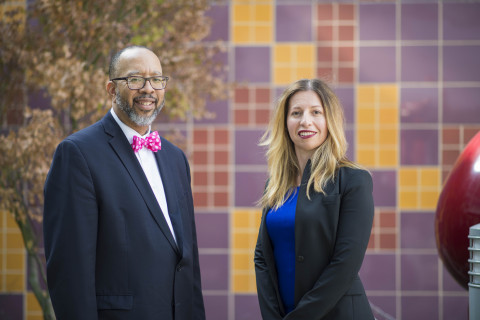 Dr. Jeffrey Upperman and Dr. Rita V. Burke (Photo: Business Wire)