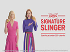 SONIC take on its iconic new advertising campaign featuring comedic powerhouses Jane Krakowski and Ellie Kemper