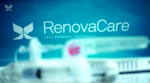 RenovaCare SkinGun™ Stem Cell Sprayer - Cell Renewal, Naturally. (Photo: Business Wire)