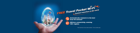 """Hong Kong Broadband Network Group (""""HKBN"""") announced the launch of its all-new global mobile data service, """"HKBN Travel Pocket Wi-Fi"""". (Graphic: Business Wire)"""