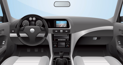 Connected car equipped with eSIM (Photo: Gemalto)