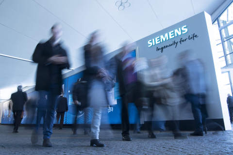 """Siemens, the recognized global technology leader, accounts for 3 million+ hotel room nights annually. Siemens named HRS to manage its worldwide hotel program today. Photo Credit: """"www.siemens.com/press"""""""
