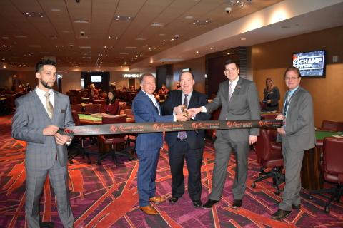 Resorts World Catskills opens new poker room. (Photo: Business Wire)