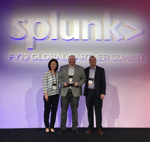 Splunk names GuidePoint Security Global Partner of the Year and Americas Partner of the Year for Outstanding Performance (Photo: Business Wire)