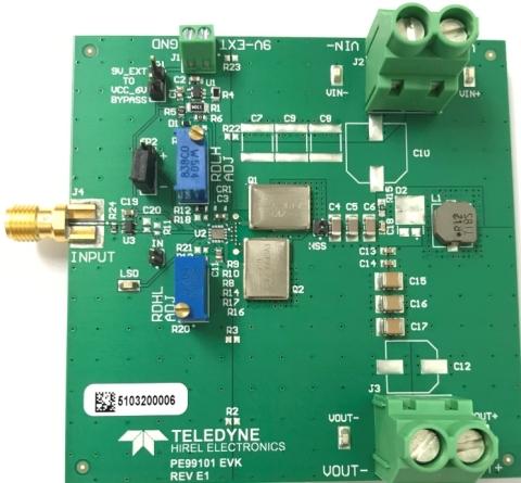 Teledyne e2v's Hi-Rel GaN Power Solution (Photo: Business Wire)