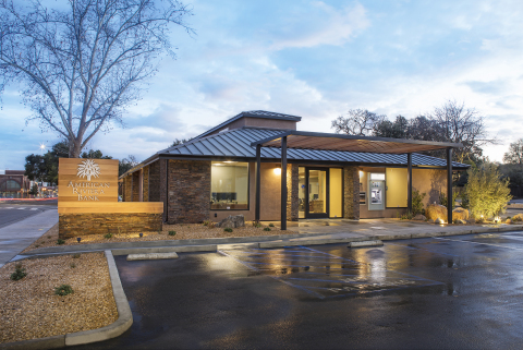 American Riviera Bank's newest branch at 1601 Spring Street in Paso Robles, California (Photo: Busin ...