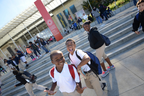 Tripling the total reach of the Rock Program, this expansion ensures that all kindergarten through fifth grade students in San Francisco can benefit from the joy, inspiration, and education of a field trip to the California Academy of Sciences. (Photo credit: Noah Graham/Golden State Warriors)