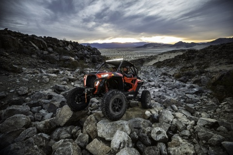 The all-new RZR XP Turbo S is the biggest, baddest vehicle ever introduced by RZR, allowing drivers to tear through virtually anything in its path. (Photo: Business Wire)