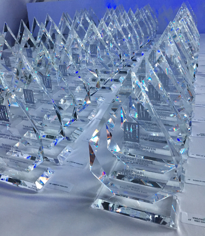 Airports Council International (ACI) World announces the airport winners of the prestigious 2017 Airport Service Quality (ASQ) Awards. (Photo: ACI)