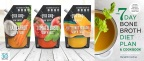 """The Osso Good Company announced the debut of new Bone Broth Soup'r Foods, rich, nutrient-dense soups that include the company's high-quality bone broths in each serving, which will be showcased at 2018 Natural Products Expo West. Additionally, Meredith Cochran, co-founder and chief executive officer of The Osso Good Co., is also expanding the nourishing powers of bone broth with the release of her new book, """"The 7-Day Bone Broth Diet Plan: Healing Bone Broth Recipes to Boost Health and Promote Weight Loss"""" (Photo: Business Wire)"""