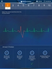 The Nihon Kohden Dimensions virtual reality app teaches clinicians how to identify common cardiac arrhythmias. (Graphic: Business Wire)