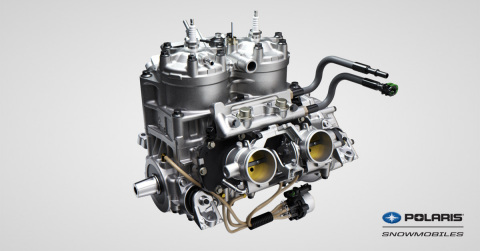 Introducing the Most Powerful Polaris Snowmobile Engine Ever: the Polaris 850 Patriot (Photo: Business Wire)
