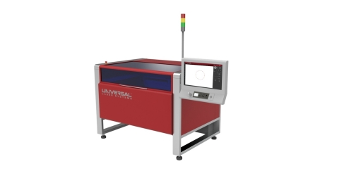 The ULTRA 9MWH processes the broadest range of compatible materials with the unique MultiWave Hybrid technology, which uses a combined beam of laser power containing up to three wavelengths. (Photo: Business Wire)