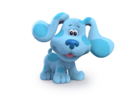 Beloved puppy Blue returns with a refreshed look in the remake of Nickelodeon's groundbreaking serie ...